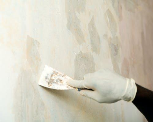 家居裝修, 牆壁, 石膏, 石膏撇去 的 免費圖庫相片
