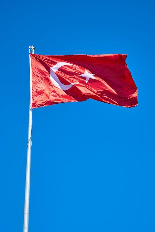 azja, flaga, flaga turecka