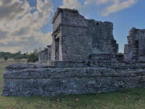 Immagine gratuita di cancun, messico, playa del carmen, rovine maya