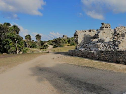 Immagine gratuita di messico, playa del carmen, rovine maya, tulum