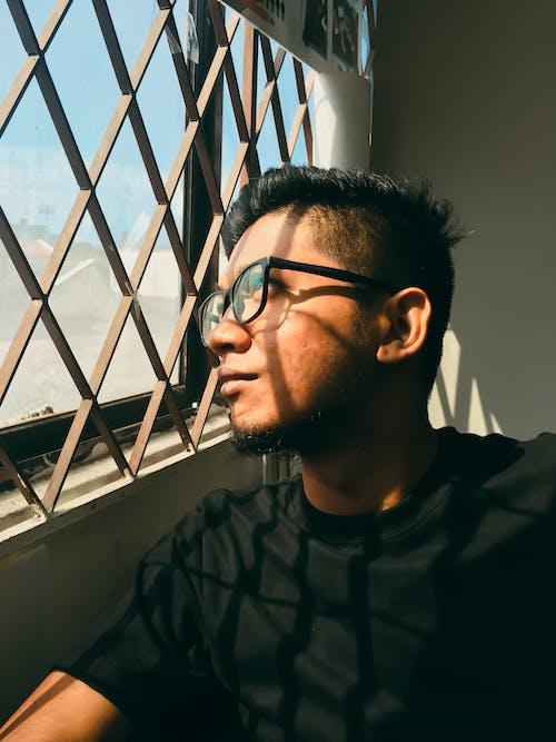 Free stock photo of beside window, looking, portrait, portrait photography