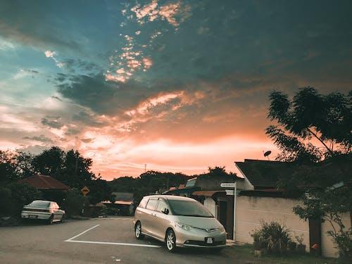Free stock photo of beautiful landscape, beautiful view, orang sky, sky