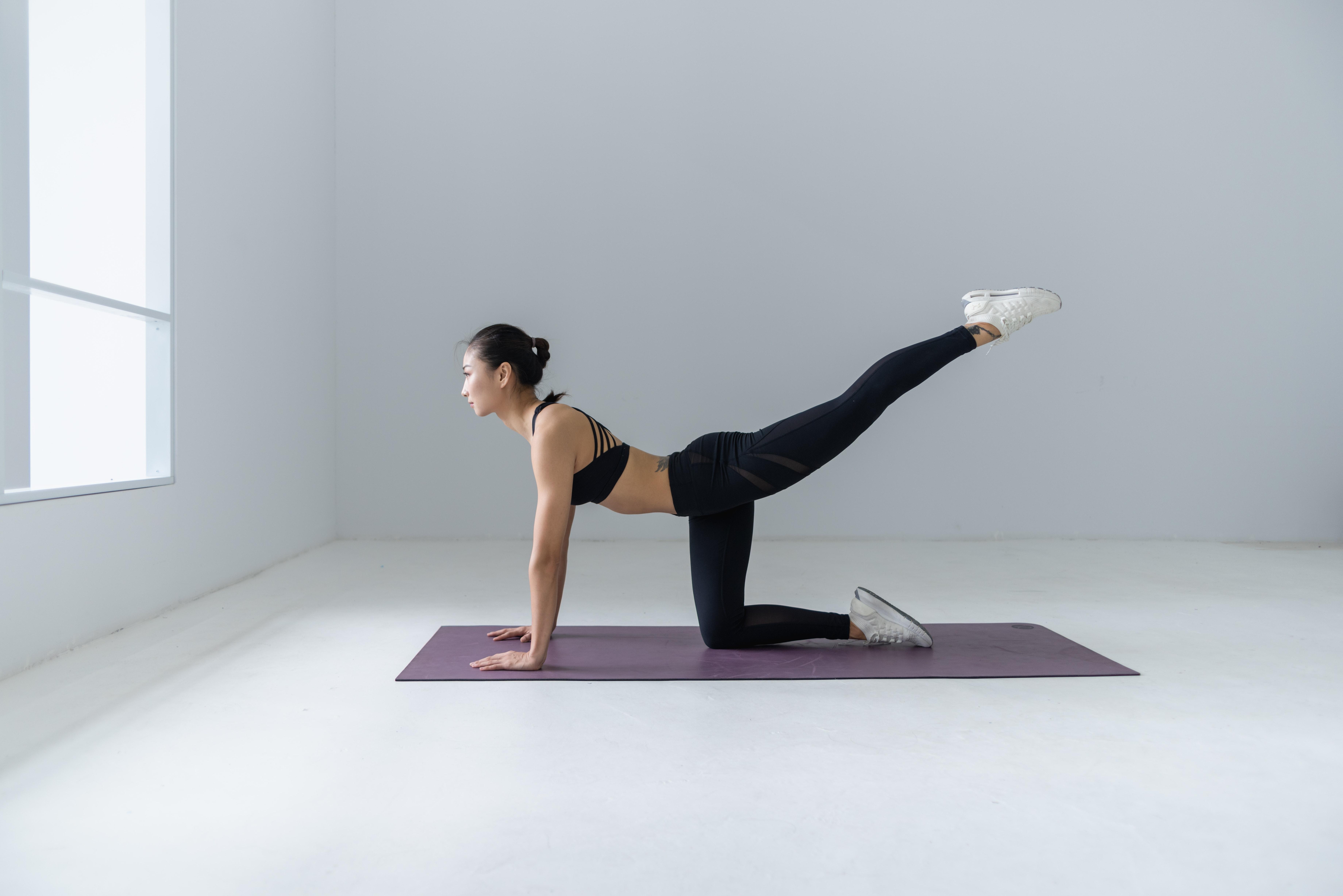 Photo Of Woman Doing Yoga Free Stock Photo