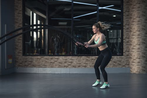 Woman Doing Crossfit