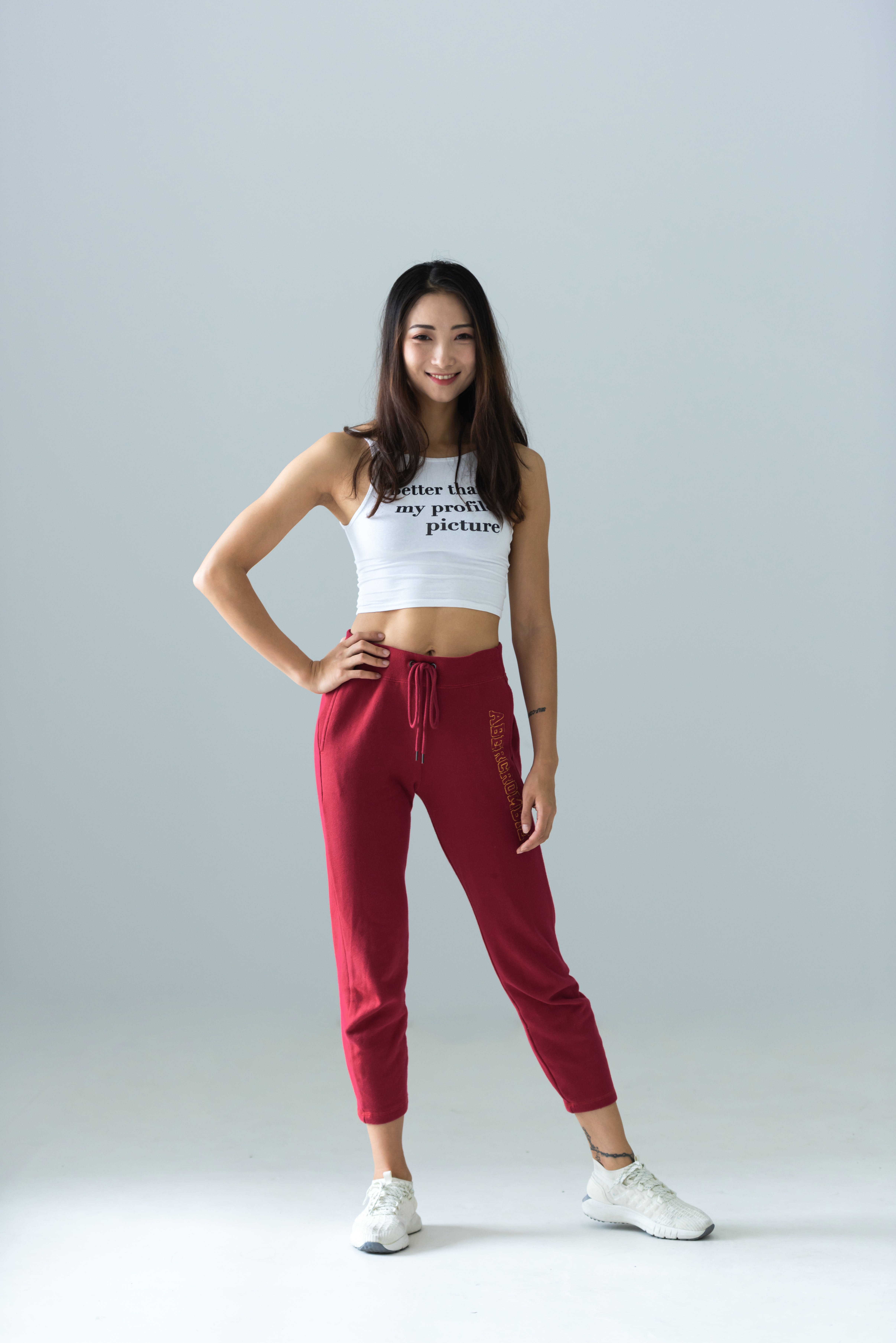 Photo of Woman Wearing Red Pants