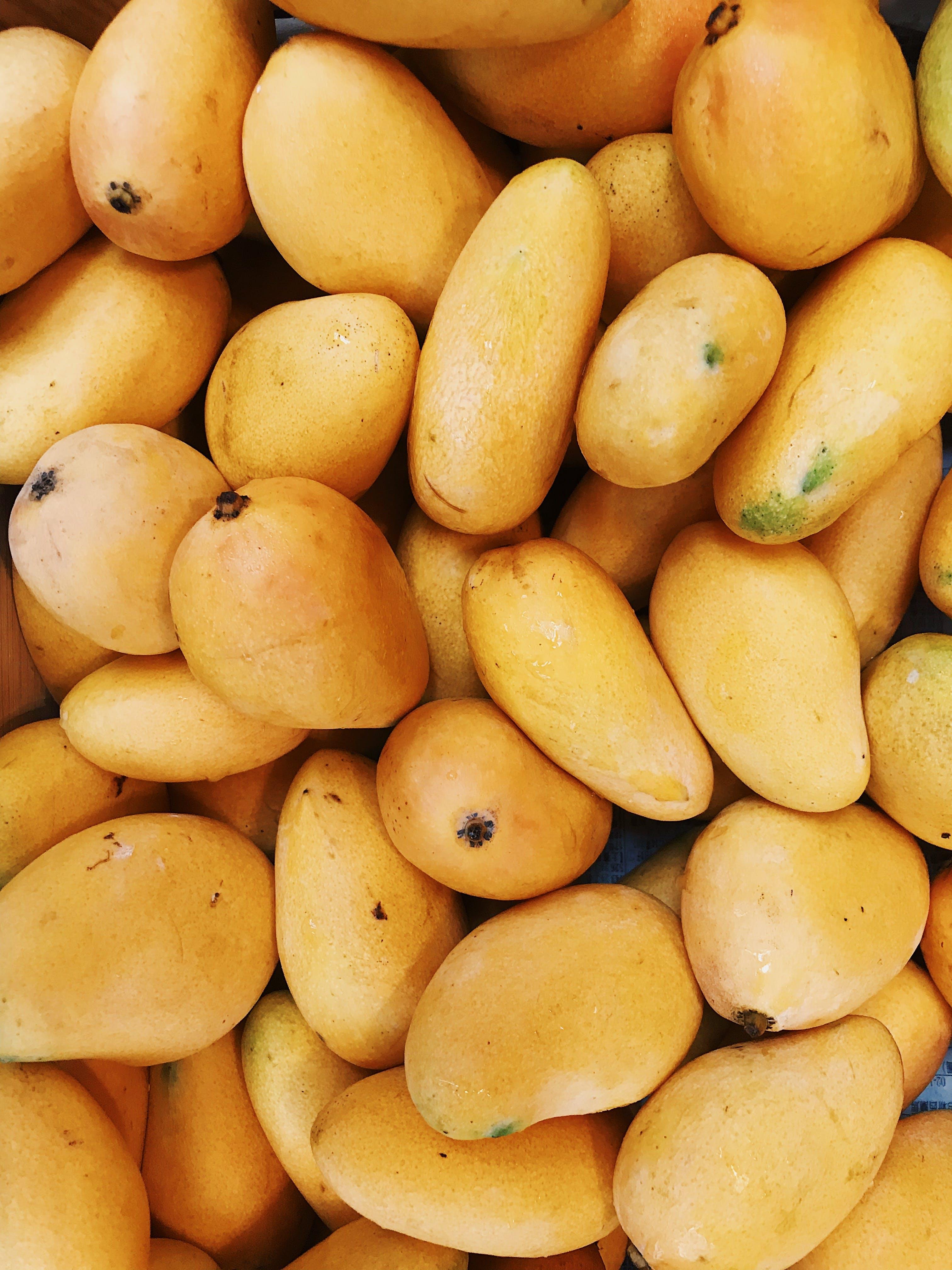 Foto d'estoc gratuïta de fruita, fruita tropical, groc, mangos