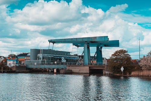 cranes at pier