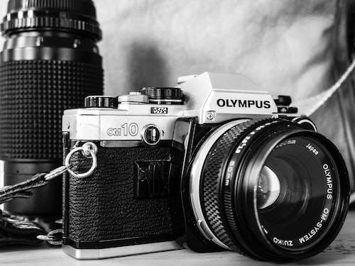 Immagine gratuita di fotocamera, fotografia, lente, olimpo