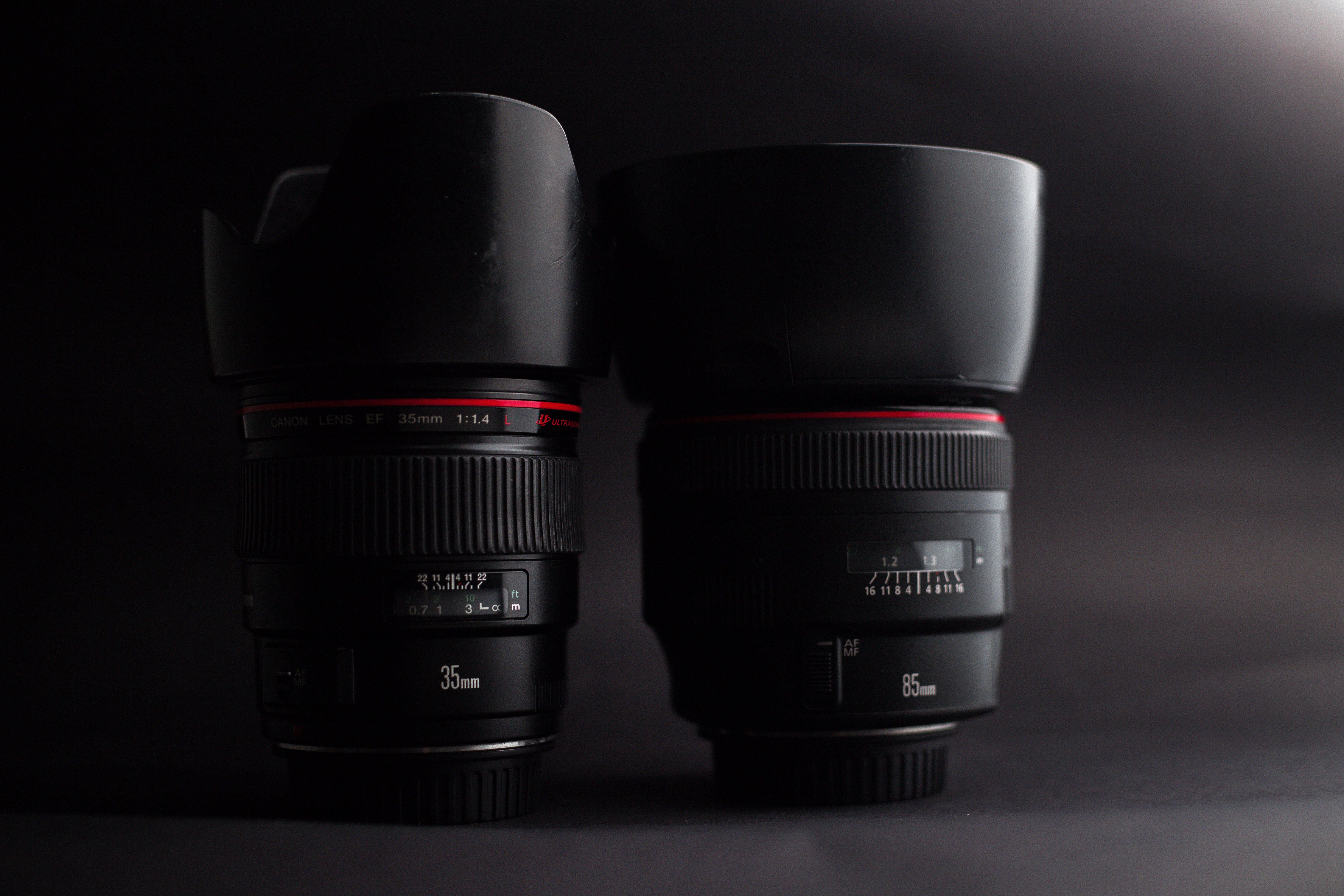 Fotos de stock gratuitas de 35 mm, 85mm, Canon, equipo