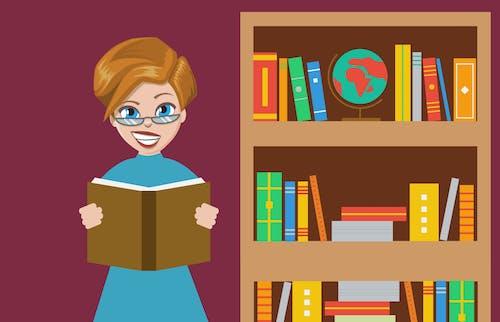 Free stock photo of book, bookcase, bookshelf, choice