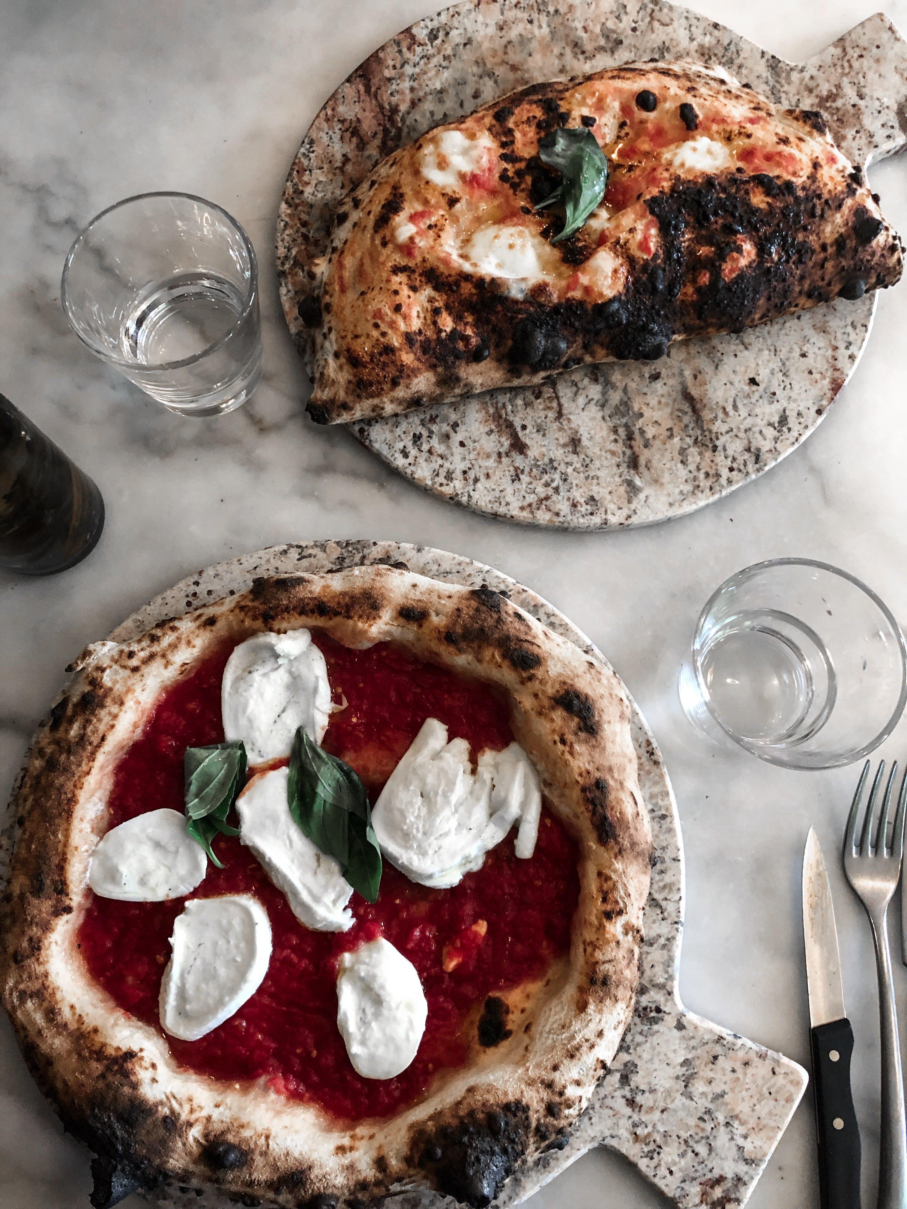 Бесплатное стоковое фото с аппетитный, базилик, блюдо, вилка