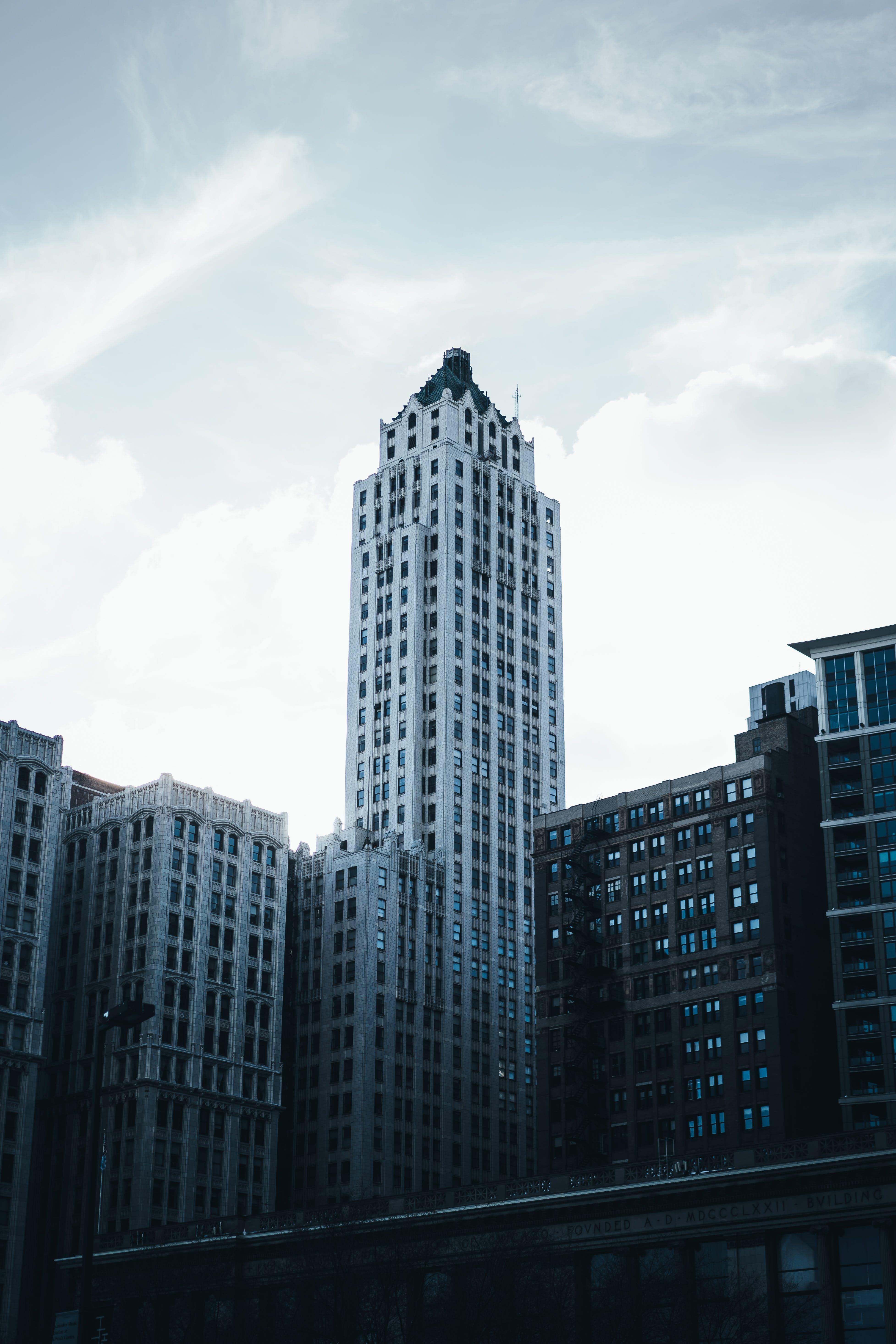 イリノイ州, ガラス窓, シカゴ, シティの無料の写真素材