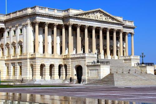 Základová fotografie zdarma na téma Kapitol, pilíře, sloupy, Washington DC