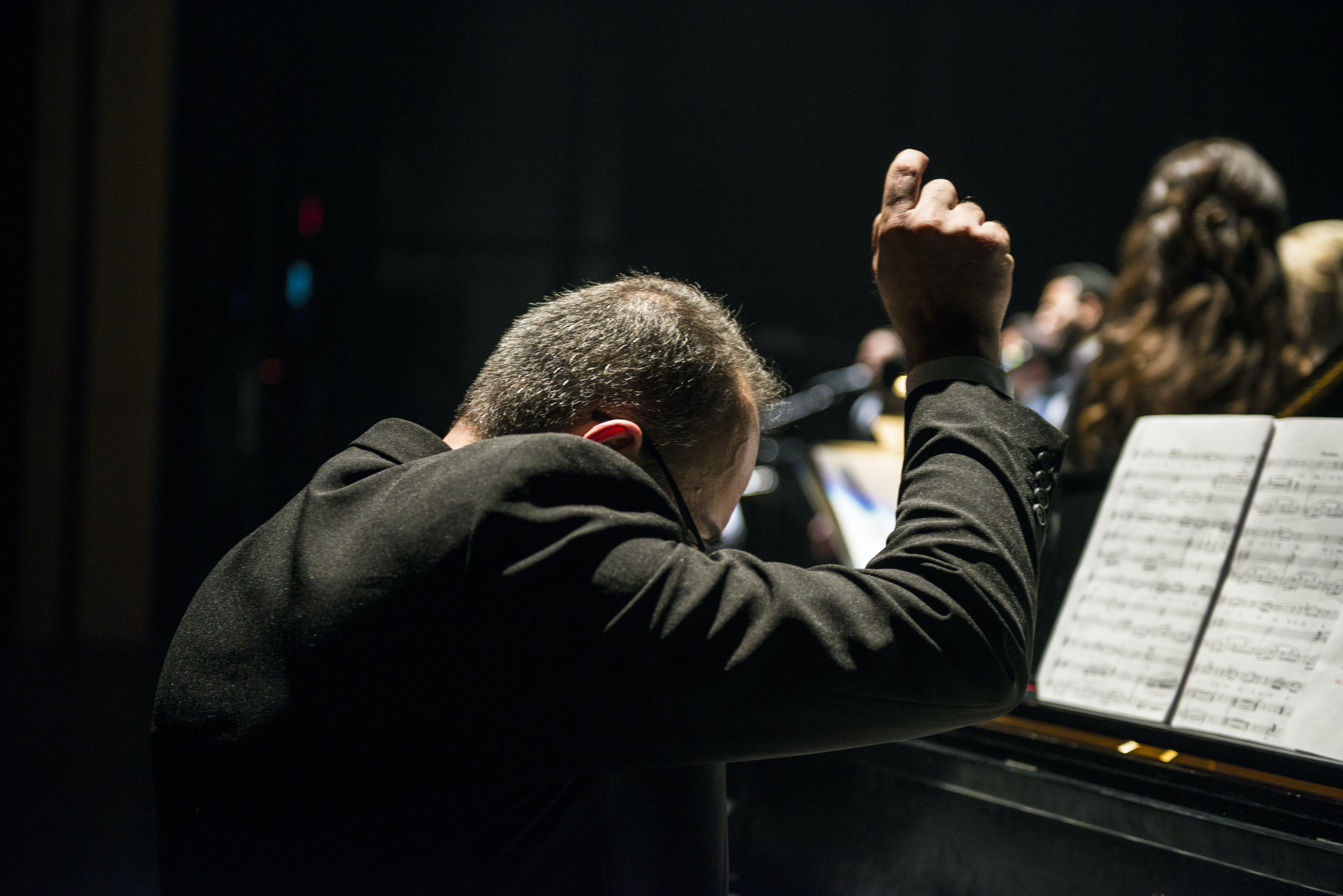 Základová fotografie zdarma na téma gesto, hudba, hudební noty, hudebník