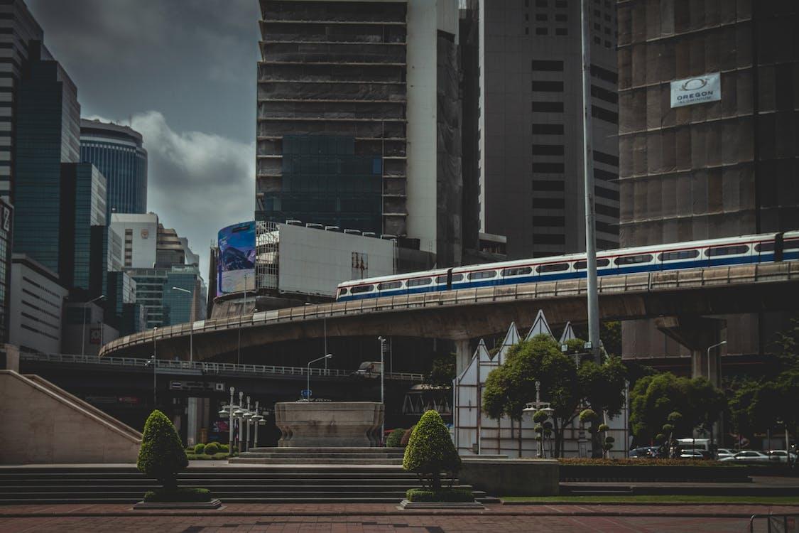 คลังภาพถ่ายฟรี ของ กรุงเทพมหานคร, กลางแจ้ง, การขนส่งสาธารณะ