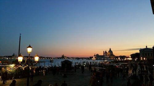Kostenloses Stock Foto zu italien, sonnenuntergang, venedig