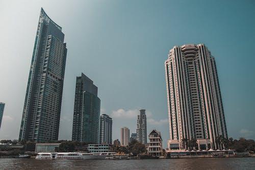 ウォーターフロント, シティ, タイ, バンコクの無料の写真素材
