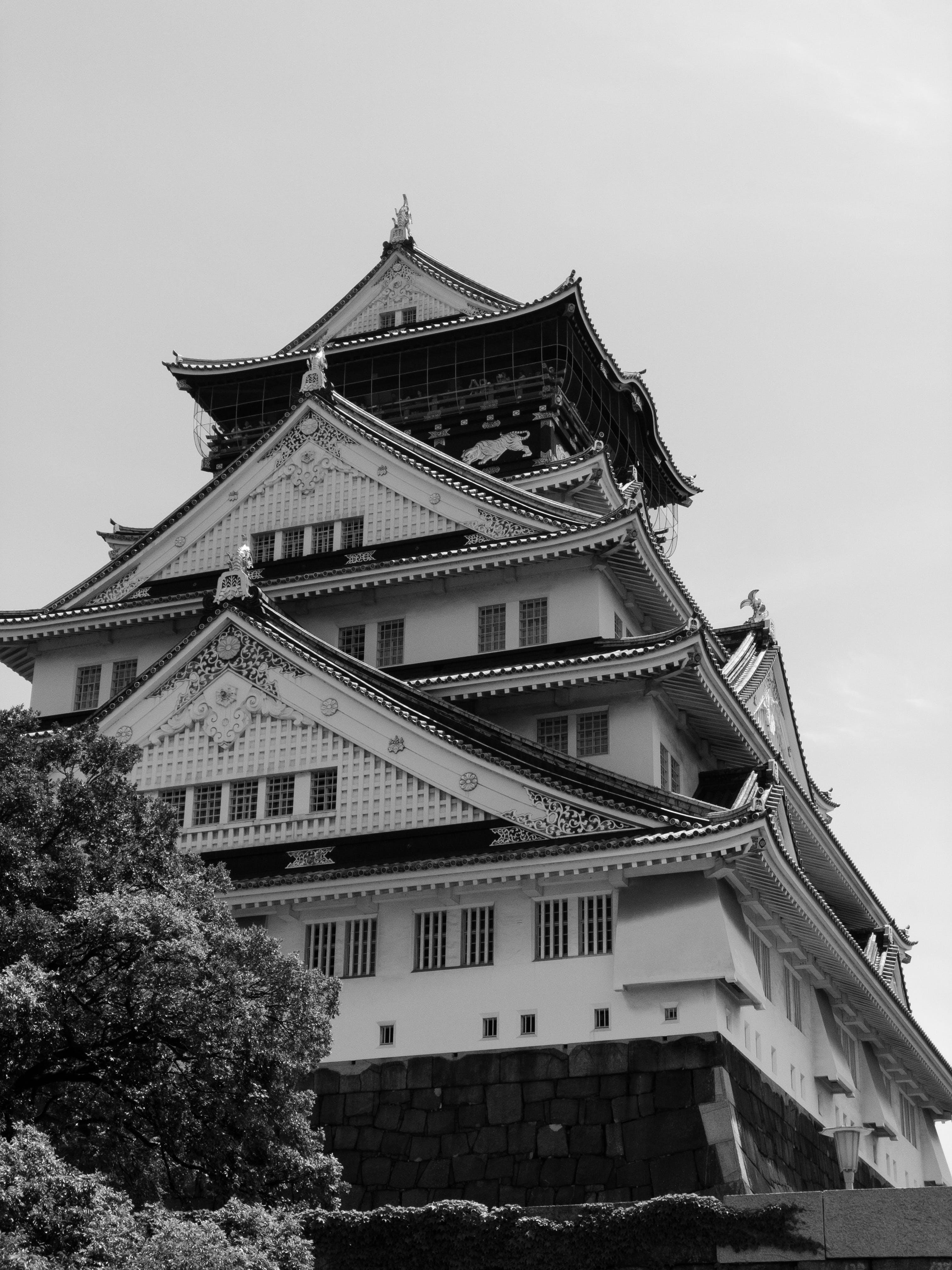 Základová fotografie zdarma na téma architektura, budova, černobílý, cestování