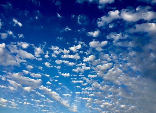 Free stock photo of blue sky, clouds