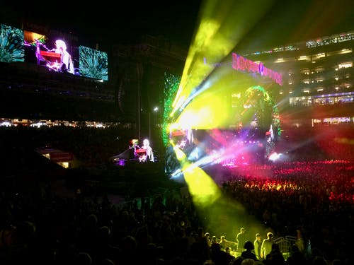 Free stock photo of concert, Fare Thee Well, lights