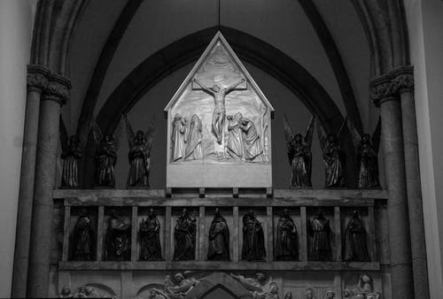 Gratis arkivbilde med arkitektur, jesus kristus, katolisisme, kirke