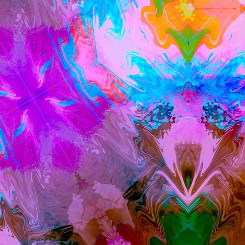 Darmowe zdjęcie z galerii z abstrakcyjne tło, abstrakcyjny, ilustracja, kolor