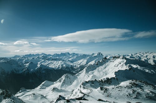 Безкоштовне стокове фото на тему «HD шпалери, Альпи, вершина гори, вид із дрона»