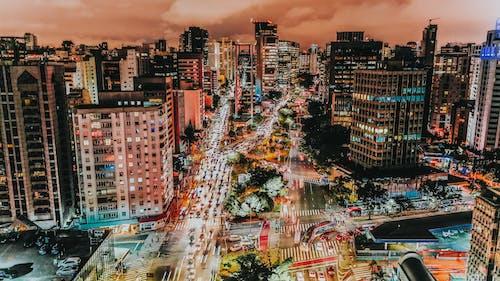 Δωρεάν στοκ φωτογραφιών με 4k ταπετσαρία, αρχιτεκτονική, αστικός, αυγή