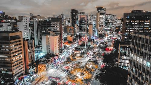 Бесплатное стоковое фото с архитектура, высотные здания, горизонт, город