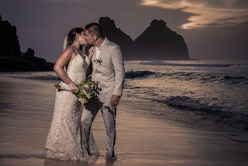Foto profissional grátis de acessórios de casamento, alianças, bandas de casamento, Bolo de casamento