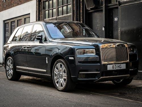Základová fotografie zdarma na téma luxusní auto, rohlíky royce cullinan, Rolls Royce, rulička