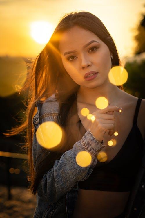 人, 光鮮亮麗, 太陽眩光, 女人 的 免費圖庫相片