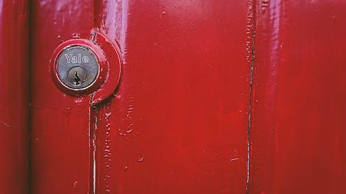 Darmowe zdjęcie z galerii z czerwona farba, czerwone drzwi, czerwony, drzwi