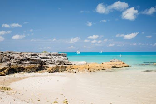 Free stock photo of Blue ocean, ocean, sailboat, sailboats