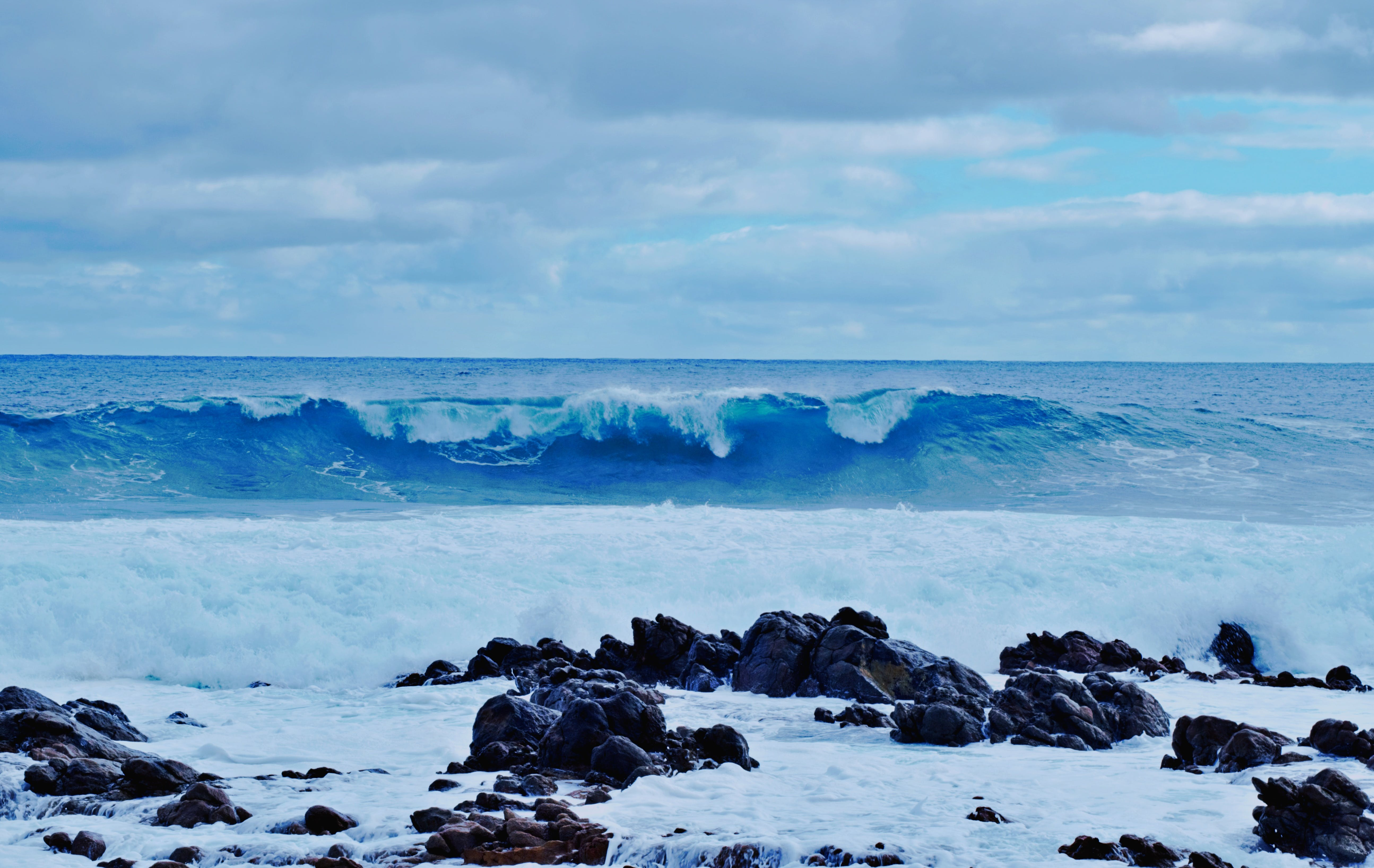 Immagine gratuita di oceano, oceano blu, oceano indiano, onde