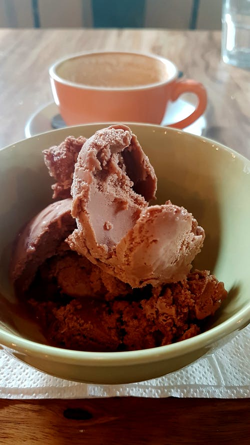 Gratis lagerfoto af bokeh, dessertskål, is, Kaffekop