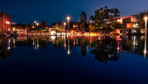 Kostenloses Stock Foto zu nachtleben, nightlife, water