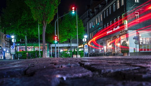 Kostenloses Stock Foto zu light, nachtleben, nightlife, street