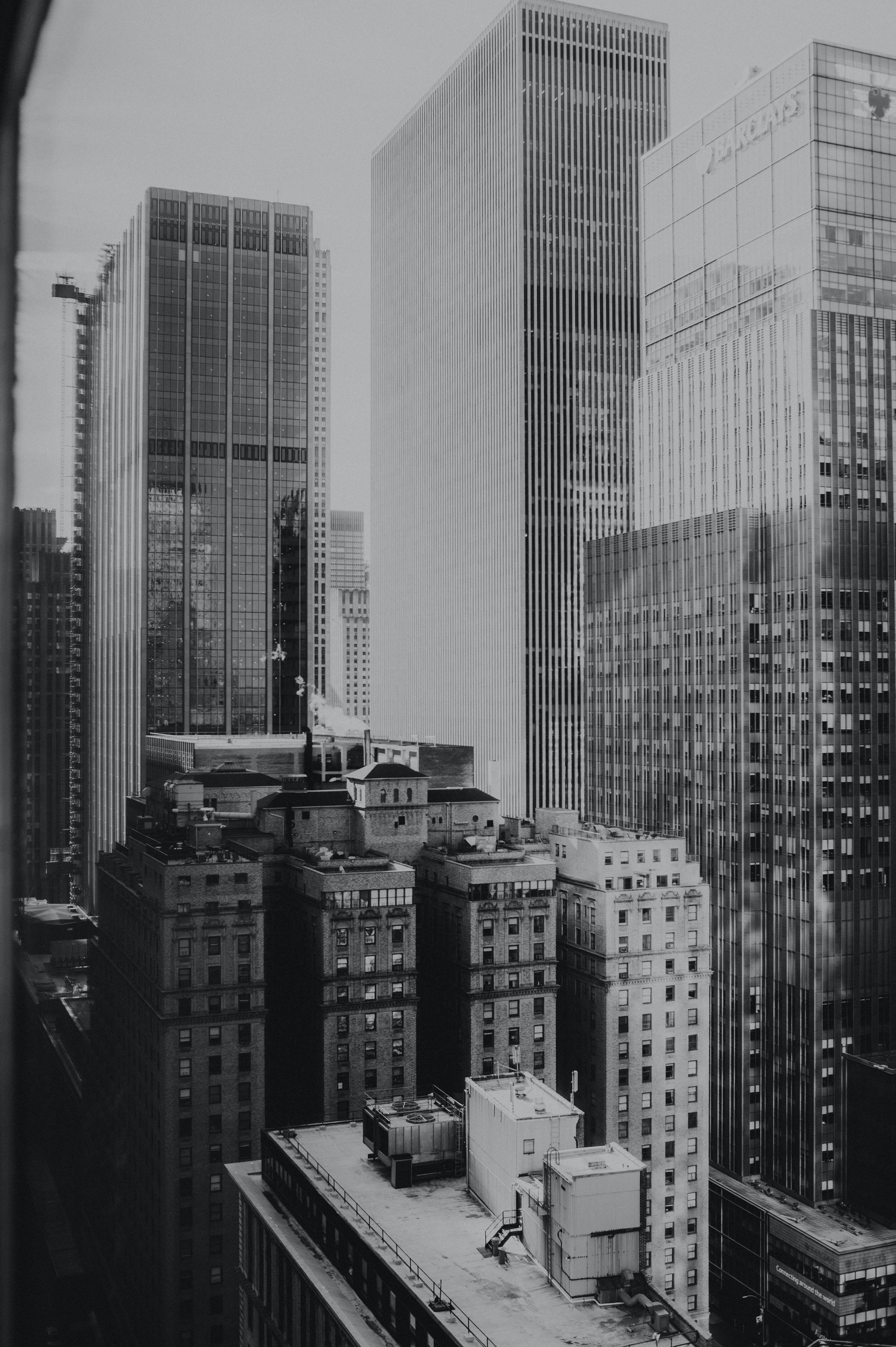 Foto d'estoc gratuïta de a l'aire lliure, arquitectura, blanc i negre, carrer