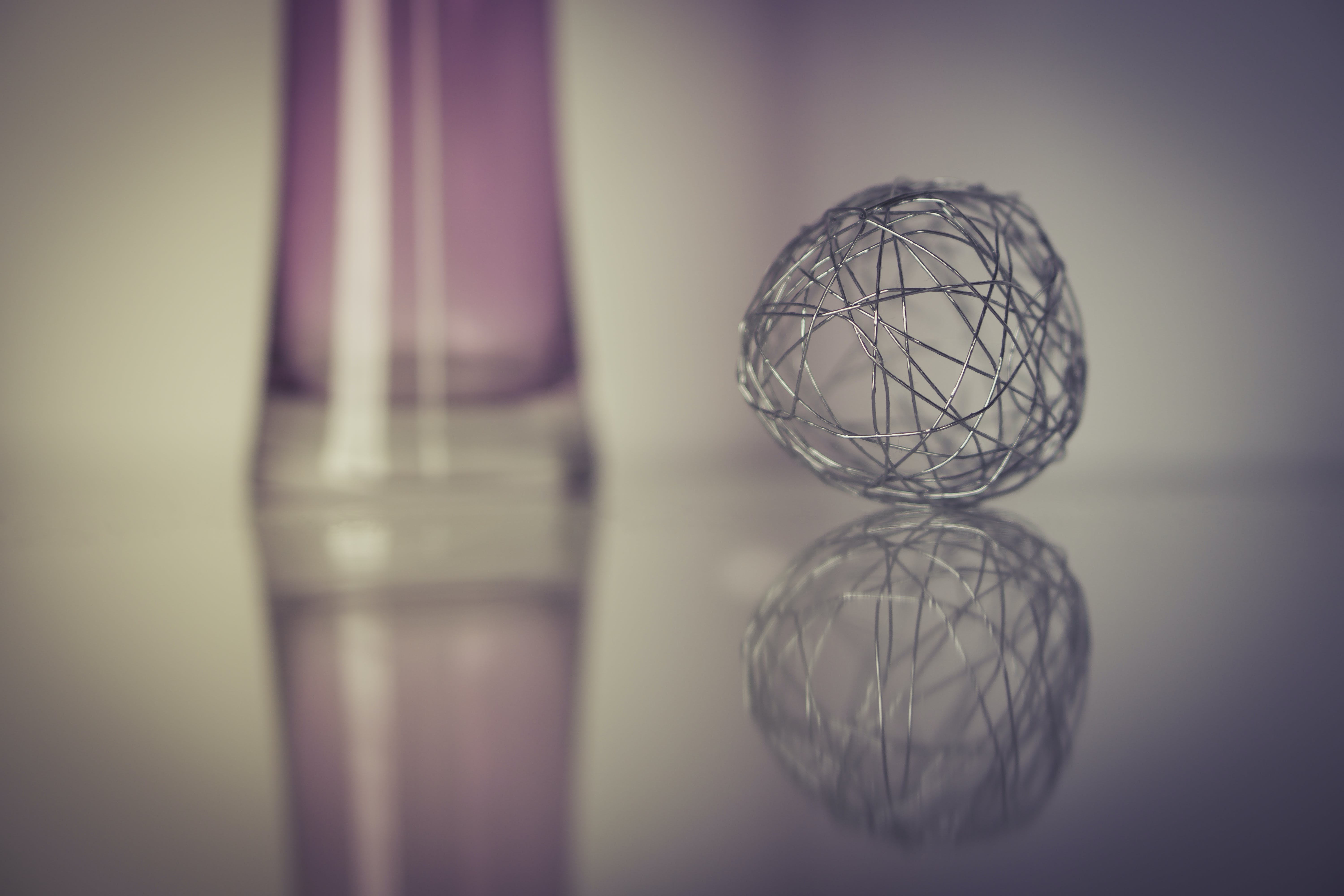 Grey Wire Ball