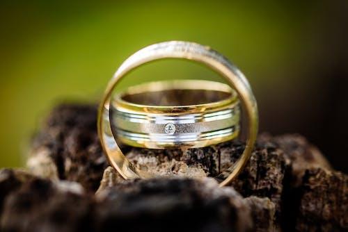 婚禮, 岩石, 戒指, 樂隊 的 免費圖庫相片