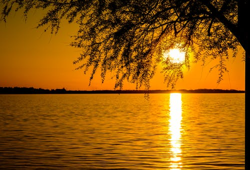 คลังภาพถ่ายฟรี ของ ตะวันลับฟ้า, ทะเลเอเดรียติก, พระอาทิตย์ตกที่ชายหาด, โรงแรมชายหาด