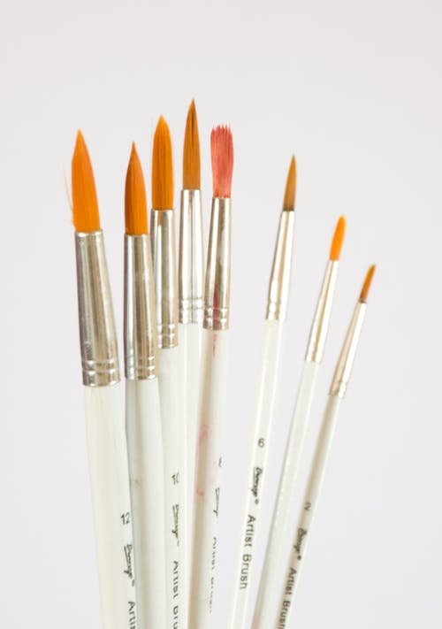 Assorted Paintbrushes