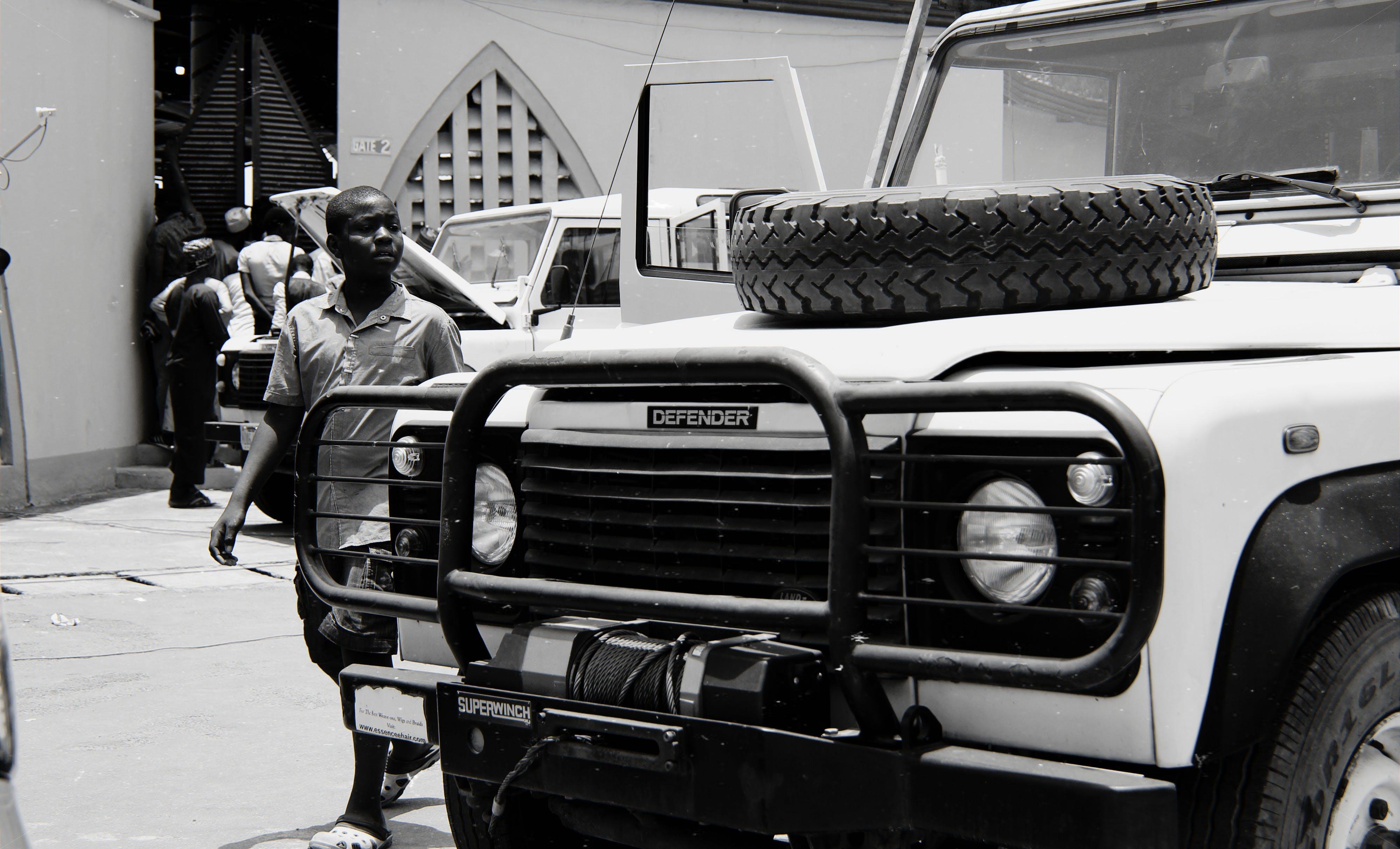 Imagine de stoc gratuită din afro-americani, alb-negru, anvelopă, automobil