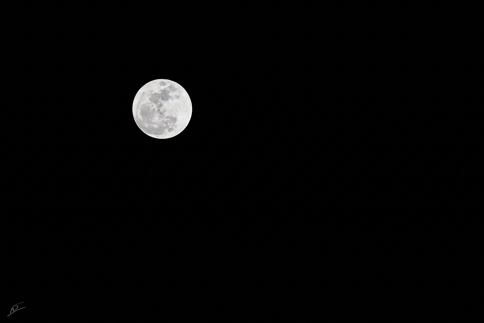 Free stock photo of astrology, black and white, full moon
