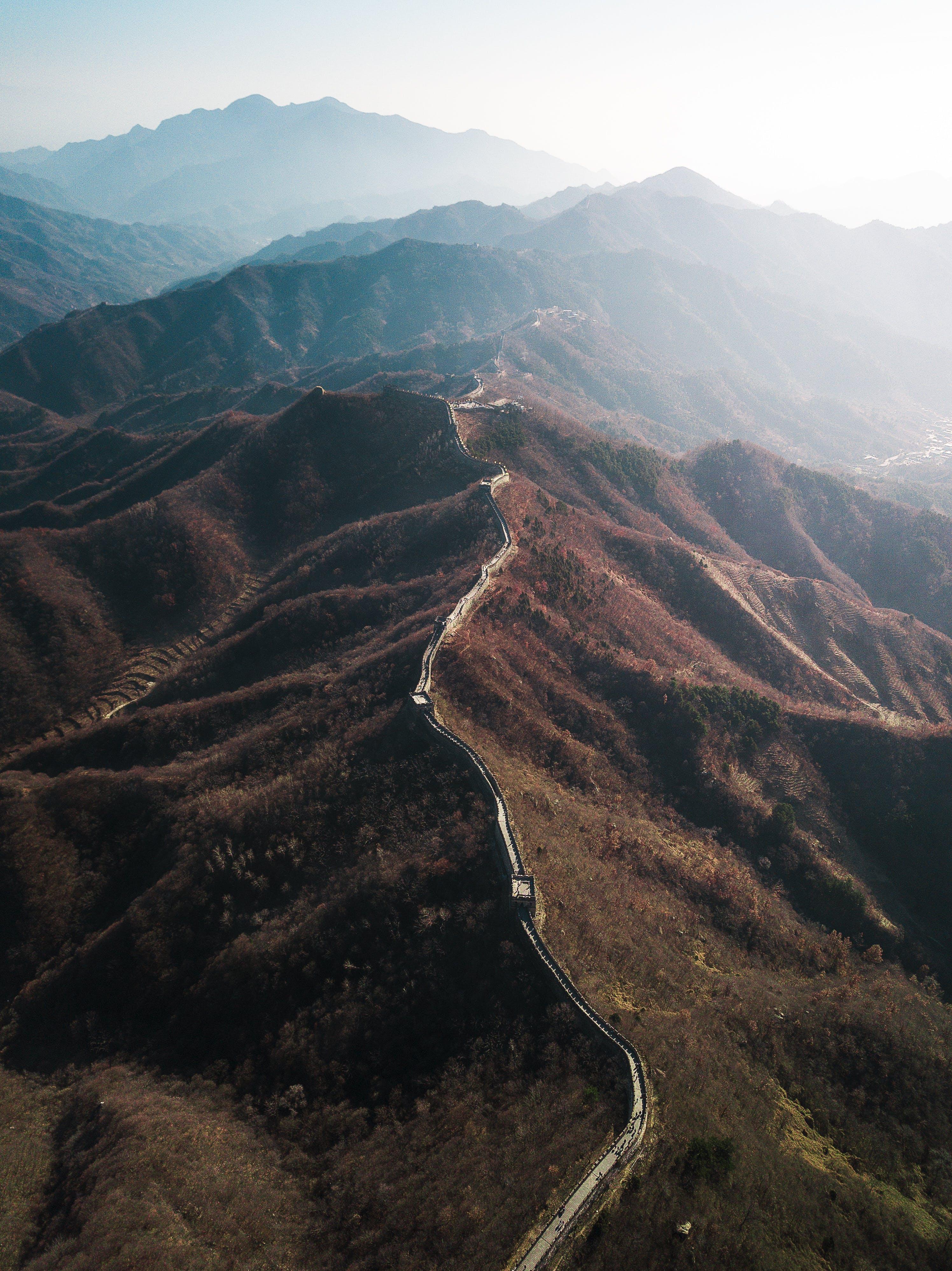 Základová fotografie zdarma na téma cestování, denní světlo, divit se, hora