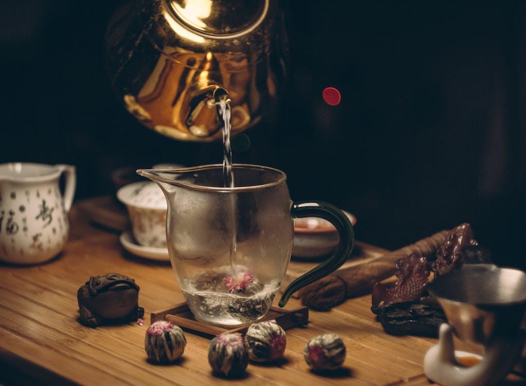 ciemny, czajniczek, czajnik