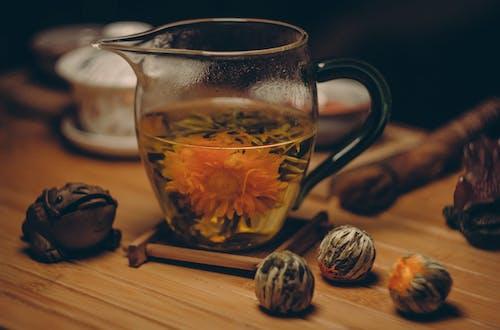 あたたかく, お茶, ガラス, ティーポットの無料の写真素材