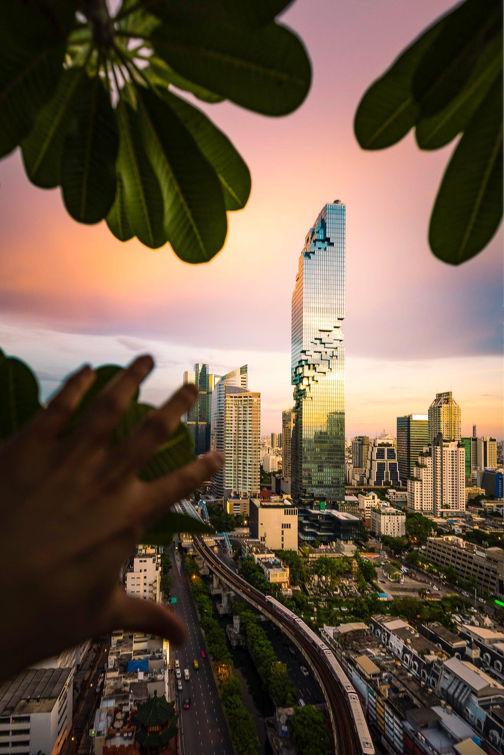 反射, 商業, 城市, 塔 的 免费素材照片