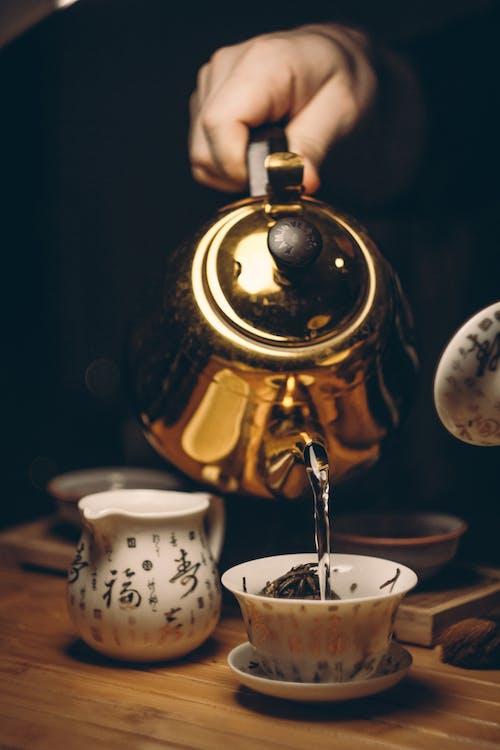 お茶, カップ, カフェイン